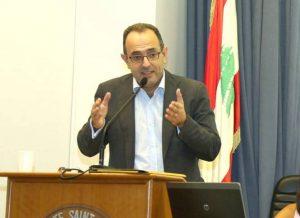 Le président de l'Aldic, Karim Daher